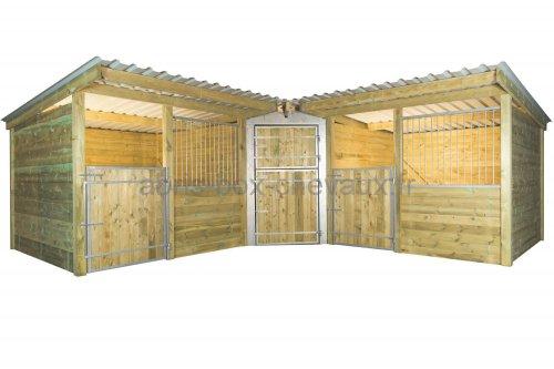 Box d\'angle Abris-box-chevaux.ch: Le spécialiste discount des boxs ...